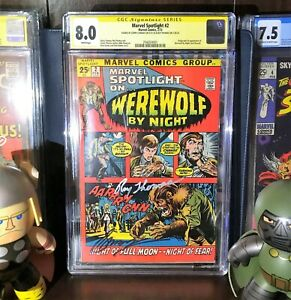 Marvel Spotlight # 2 *CGC S.S. 8.0* First appearance of Werewolf by Night