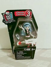 Collection 3 Monster High Doll Mega Bloks 13PC Poseable Mini Figure ghoulia