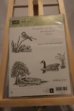 "Stampin' Up! ""Moon Lake"" Set of 6 Stamps"