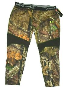 Under Armour Infrared Scent Control hunting Tevo Legging 3XL Mossy Oak rt $75