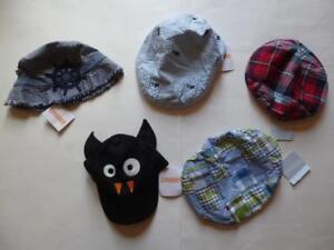Gymboree Hats Plaid Striped UPick Sizes 0-12 6-12 18-24 mos. 2T-3T 4T-5T NEW