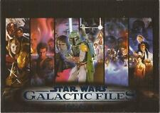 Star Wars Galactic Files 2 - RARE Blue Parallel Set 350 Cards