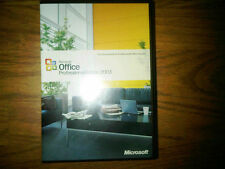 Microsoft Office Professional 2003,SKU 269-06738,Full Retail,Word,Excel,Outlook