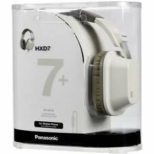 NEW Panasonic RP-HXD7WE-K WHITE Large Design Headphone with Volume control & In