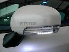 Toyota PRIUS V 2010-2014 UP LED mirror cover turn light lamp WHITE - unpainted