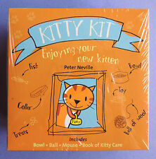Kitty Kit Care Book Bowl Mouse Toy Enjoying Your New Kitten (Cat) Peter Neville
