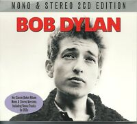 BOB DYLAN MONO & STEREO 2 CD EDITION - HIS CLASSIC DEBUT ALBUM