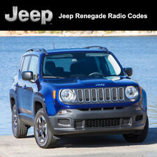 Jeep Renegade Radio Code Unlock Decode Security Codes All Vehicles Fast Service