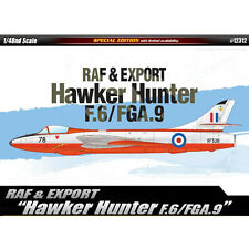 Academy RAF & EXPORT Hawker Hunter F.6/FGA.9 Plastic Model 1/48 Military 12312