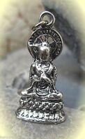 siddharta buddha figur anhänger charm für kette und armband 925 gestempelt