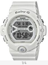 Casio Baby-G Ladies' Shock Resistant White Resin Case Digital Watch - White NEW