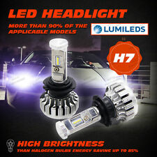 80W PHILIPS LUMILED LED Headlight H7 Replacement Kit 12V 24V Fits Halogen Xenon