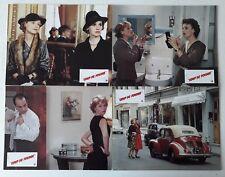 12 PHOTOS D EXPLOITATION LOBBY CARDS COUP DE FOUDRE ISABELLE HUPPERT MIOU MIOU