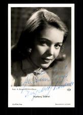 Ingeborg Schöner UFA Autogrammkarte Original Signiert # BC 50561