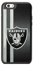 NFL Oakland Raiders Hard Case for iPhone 6 iPhone 6s Black/Gray