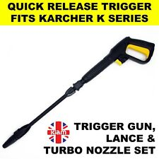 More details for karcher k3 turbo lance & trigger gun replacement for new click washer hose