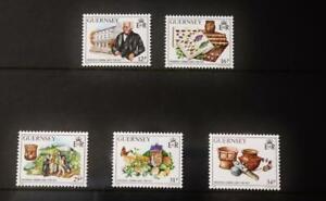 "Guernsey Stamps: ""Frederick Corbin Lukis"" - Presentation Pack 1988"