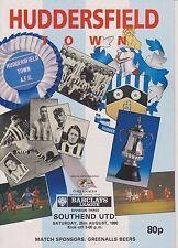 Southend unida Huddersfield Town V 90-91 partido de Liga