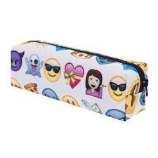 Emoji Pen Pencil Case Wallet Coins Pouch Travel Purse Stationery Organizer Bag