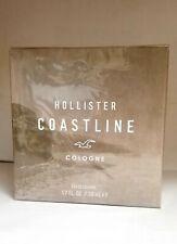Hollister Coastline 1.7/1.6 oz/ 50ml Eau De Cologne Spray For Men New In Box