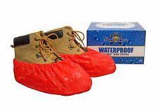 ShuBee® Waterproof Shoe Covers - Red (40 Pair)