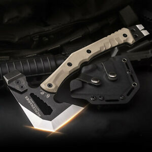 ✅Outdoor Tactical Engineer Multifuntional Axe Rescue Camp Artillery Fire Rescue