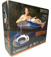 Intex RiverRun  Inflatable Floating Water Tube Raft (1 Person)