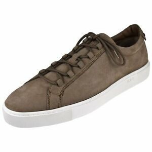 Tod's Men's Shoes Ghille Tie Suede Sneaker
