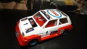 SCALEXTRIC MG METRO ESSO Car With New Rear Tyres & Added Stickers !