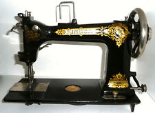 Antique vintage Singer D9 Wheeler & Wilson 9W sewing machine rare attachments