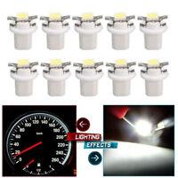T5 B8.5D 5050 1SMD Auto LED Éclairage Light Bulb COMPTEUR TABLEAU DE BORD Blanc