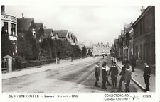 Hampshire Postcard - Old Petersfield - Lavant Street c1905 - Ref U849