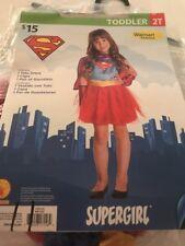 Supergirl Halloween Costume Toddler 2T