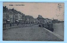 1921 - Carte Correspondance  - Liége - Quai de la Batte - Yt.Taxe.22