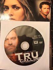 Tru Calling - Season 1, Disc 6 REPLACEMENT DISC (Not Full Season)