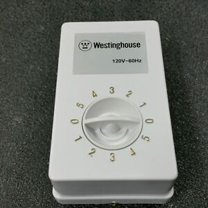 NEW - Westinghouse GW5S-U Commercial Ceiling Fan Speed Control Box 120V-60Hz