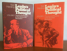 Lenin's Political Thought. Neil Harding. 2 Volume Set Russian Philosophy Books