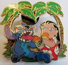 Disney Lilo and Stitch Eating Ice Cream Pin