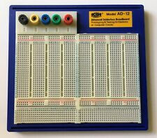 More details for ad-12 advanced solderless breadboard - k&h products - opened, never used