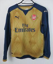 Puma Arsenal Football Shirt 2015-16 Away Soccer Jersey Kids Yth YL Boys Large 12