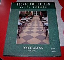 TECNIC COLLECTION Serie Urbano - Porcelanosa Ceramica - Tile Sample Book - EUC!