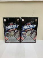 1990-91 3D UPPER DECK NHL HOCKEY BOX Factory Sealed (Lot of 2)