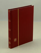 """Lighthouse 32 Page Hardcover Stockbook (6 1/2"""" X9"""") , Red-LS2/16"""