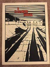 New Flesh N.E. Movie Art Print Poster Mondo A Clockwork Orange Stanley Kubrick