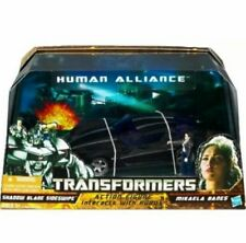 Transformers Human Alliance Shadow Blade Sideswipe Mikaela Banes New 2010