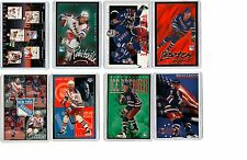 8 COUNT OF 1990s COSTACOS POSTER CARDS NY RANGERS LEETCH MESSIER GRETZKY AD