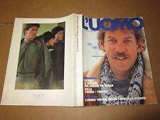 L'UOMO VOGUE SETTEMBRE 1982 DONALD SUTHERLAND EDIZIONI CONDE' NAST
