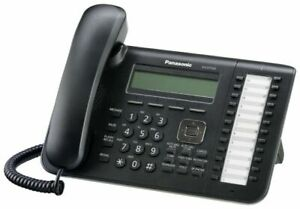 Panasonic 24 Button 3 Line Digital LCD Display Phone KX-DT543 - New   To Export