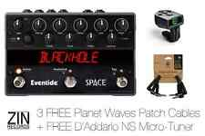 Eventide Space Guitar Effect Pedal (3 FREE PW Patch Cables + Microtuner)