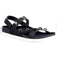 9615fbaf72d2 Vera Wang Womens Shoe Size 8 Black Embellished Strappy Simply Vera Sandals  Shoes